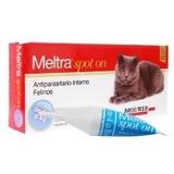 Meltra Spot On Gato De 4 A 8kg Antiparasitario Interno