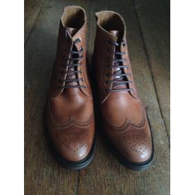 Bota Brogue - Sapatos Marrom no Mercado Livre Brasil 94f533a87ae