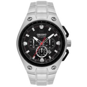 Relógio Orient Masculino Aço Cronógrafo Mbssc171