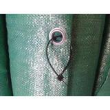 Rafia Lona Verde Cerco 1,50 X 100 M C/ojal + 200 P + Alambre