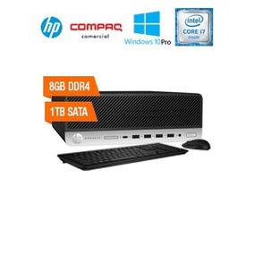 Computadora Hp Prodesk 600 G3 Sff, Intel Core I7-6700 3.40gh