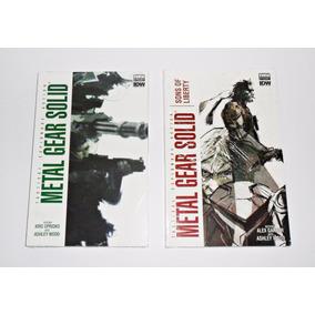 Hq Metal Gear Solid Vol.1 E Sons Of Liberty Vol.2 (novos)