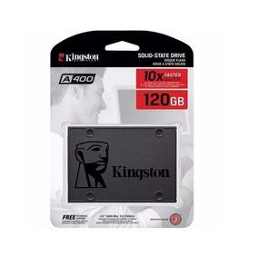 Hd Ssd 120 Gb Sata 3 Kingston A400 - 500 Mb/s (10x + Rápido)