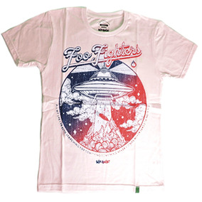 Remera Manga Corta Modelo Foo Fighters De Seaquest Store