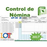 Nomina Excel, Recibo De Pago Semanal Quincenal Mensual
