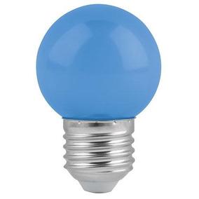 Lámpara De Led G45 127 V 1 W Color Azul Volteck 46026