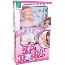 Boneca Tô Dodói Fala Várias Frases 44cm 211 - Super Toys