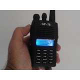 Radio Ht Uhf Gp-78 Elite 400mhz A 470mhz 5watts