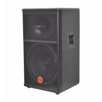 Caixa Ativa Bluetooth Leac´s - Pa 1500 Frontal Madeira