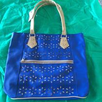 Bolsa Feminina Promoção Barata Top 710-960 Azul Royal F Grat
