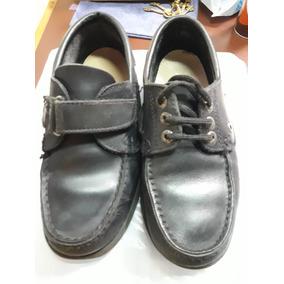 Zapato Colegial Cuero T34 Cavatini /gaby Arco Anat