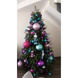 Arbol De Navidad Con Adornos Y Accesorios