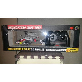 Helicoptero Jeidy Toys Original, Control Remoto. 3.5 Canales