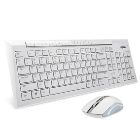 Arion Rapoo 8200p 5g Multimedia Wireless Keyboard A -blanco