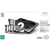 Dj Hero 2 + Turntable Pickup Lacrado Nintendo Wii - Wii U
