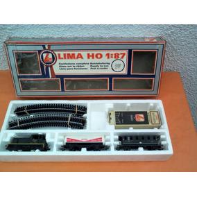 Tren Lima Set H0 Exelente Estado