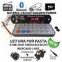 Placa Leitor De Usb Fm / Bluetooth / Aux P2 Frontal +brindes