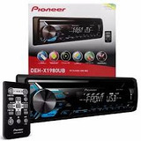 Cd Player Pioneer Deh-x1980ub Mixtrax Entrada Mp3 Usb Aux