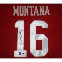 Jersey Firmado Joe Montana San Francisco 49ers Nfl