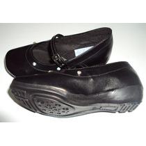 Zapato Colegial Escolar Cosido Talla 23 Al 40 Brayan