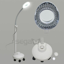 Pro 5x Led De Aumento De Dioptrías Floor Stand Lámpara Lupa