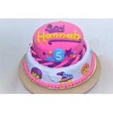 Torta Soy Luna Cumpleaños Infantiles Caseras Cupcakes