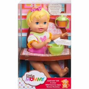 Boneca Little Mommy Momentos Do Bebê Dar De Comer Melância