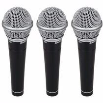 Micrófono Samson R21 Dinámico Estuche Plástico X3 Unidades