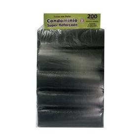 Saco De Lixo Reforçado Padrão Condomínio 200litros 50 Sacos