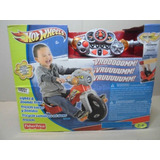 Triciclo Moto Hot Wheels Fisher-price Sonido Y Luces Niños