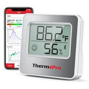 Termómetro Higrómetro Digital Bluetooth Thermopro Tp357 Indo