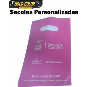 Sacolas Plasticas Personalizadas 20x30 500und.