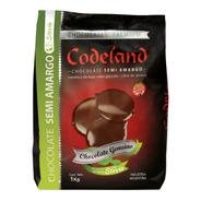 Chocolate Sin Azúcar Semi Amargo Codeland X 1 Kg