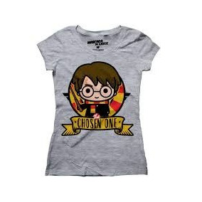 Playera Harry Mujer Harry Potter Mascara De Latex The Chosen