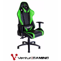 Cadeira Gamer Thunderx3 Gaming Black Green - Tgc-15