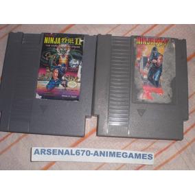 Nintendo Ninja Gaiden 1 Y 2 Nes