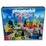 Playmobil Carrera De Autos + 5 Figuras Art. 1-9522 Antex