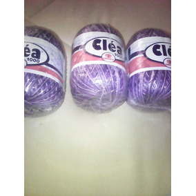Lote 24 Linhas De Croche Anne, Camila E Clea