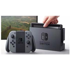 Nintendo Switch 32gb - Cinza + Mario Odyssey + Zelda