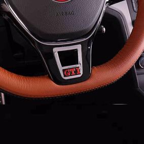 Emblema Do Volante Volkswagen Vw Gti Golf Acessório