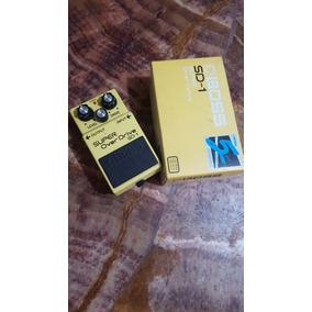 Pedal De Guitarra Boss Super Overdrive Sd-1