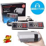 Mini Consola Retro Tipo Nintendo Nes Clásico 500 Juegos