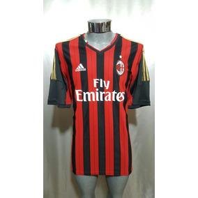 Jersey Ac Milan 2013-14 Local adidas #10 Keisuke Honda