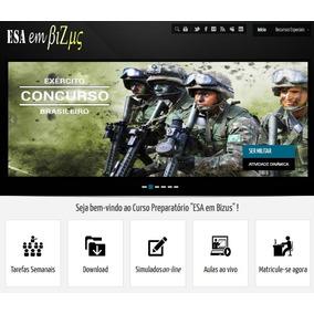 Seja Sargento Do Exército - Curso Preparatório Esa Em Bizus