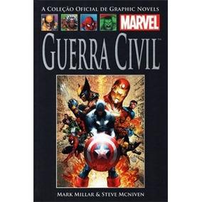 Encadernado Guerra Civil - Graphic Novels Marvel - Salvat