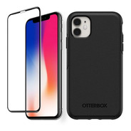 Otterbox Carcasa Symmetry + Vidrio Full iPhone 11 Negro