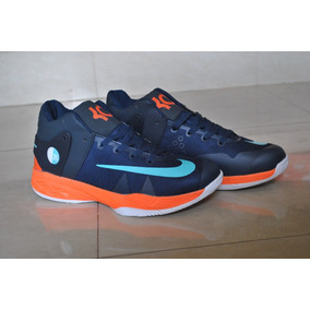 Kp3 Nike Kevin Durant Trey 5 Azul / Naranja Caballeros