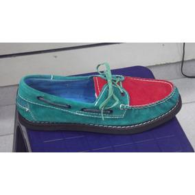 Zapatos De Cuero Tipo Navegantes Tommy Sebago Unisex Mocasin