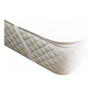 Protector De Colchón Impermeable Toalla Pvc C/elástico 90 Cm