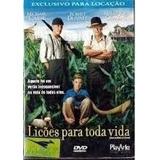 Dvd Original Lições Para Toda Vida